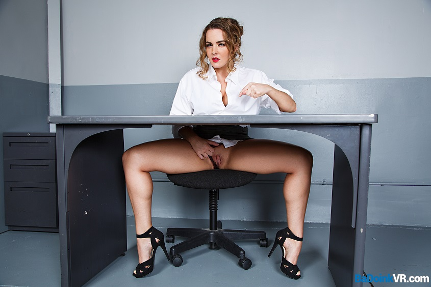 Dirty Detective Natasha Nice Uses VR Anal Sex to Make You Talk